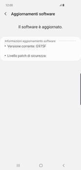 Samsung Galaxy S10 Plus - Software - Installazione degli aggiornamenti software - Fase 8