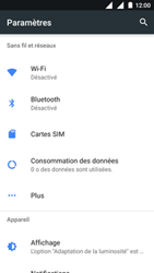 Nokia 3 - Internet - Désactiver les données mobiles - Étape 4