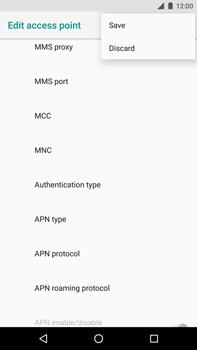 Huawei Nexus 6P - Android Oreo - MMS - Manual configuration - Step 16