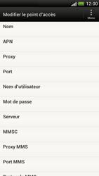 HTC Z520e One S - Internet - Configuration manuelle - Étape 8