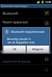 Samsung S5690 Galaxy Xcover - bluetooth - headset, carkit verbinding - stap 9