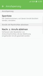 Samsung G925F Galaxy S6 edge - Android M - Anrufe - Anrufe blockieren - Schritt 7