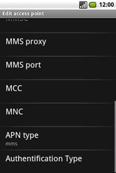 Samsung I7500 Galaxy - MMS - Manual configuration - Step 11