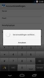 Acer Liquid Jade S - E-mail - Account instellen (POP3 zonder SMTP-verificatie) - Stap 11