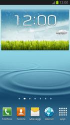 Samsung Galaxy S III LTE - Operazioni iniziali - Installazione di widget e applicazioni nella schermata iniziale - Fase 7