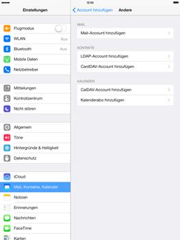 Apple iPad Air - E-Mail - Konto einrichten - 6 / 28