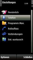Nokia 5230 - Fehlerbehebung - Handy zurücksetzen - 6 / 10