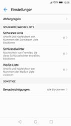 Huawei P10 - Android Oreo - Anrufe - Anrufe blockieren - Schritt 6