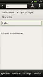 HTC One X - E-Mail - E-Mail versenden - 8 / 16