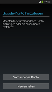 Samsung Galaxy Note 3 LTE - Apps - Konto anlegen und einrichten - 4 / 22