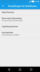Sony E2303 Xperia M4 Aqua - Netzwerk - Netzwerkeinstellungen ändern - Schritt 6