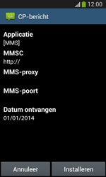 Samsung Galaxy S3 Lite (I8200) - MMS - automatisch instellen - Stap 8
