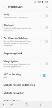 Samsung Galaxy S9 - bluetooth - headset, carkit verbinding - stap 5
