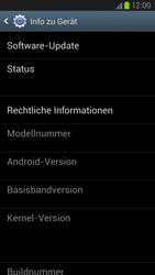 Samsung Galaxy S III LTE - Software - Installieren von Software-Updates - Schritt 6