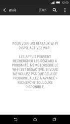 HTC One M8s - Wifi - configuration manuelle - Étape 4