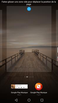 Huawei Mate 9 - Prise en main - Installation de widgets et d