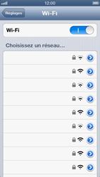 Apple iPhone 5 - WiFi - configuration du WiFi - Étape 7