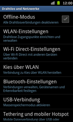 Samsung Galaxy S Advance - WiFi - WiFi-Konfiguration - Schritt 5