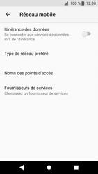Sony Xperia XZ1 - Aller plus loin - Désactiver les données à l'étranger - Étape 7