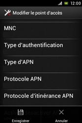 Sony ST23i Xperia Miro - MMS - configuration manuelle - Étape 16