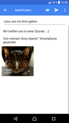 Sony Xperia XZ - Android N - E-Mail - E-Mail versenden - 2 / 2