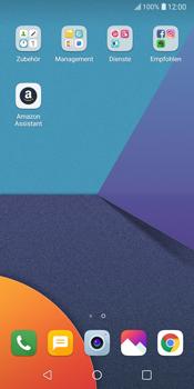 LG G6 - Android Oreo - E-Mail - Konto einrichten (yahoo) - Schritt 3