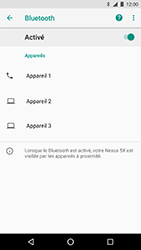 LG Nexus 5X - Android Oreo - Bluetooth - connexion Bluetooth - Étape 9