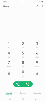 Samsung Galaxy A70 - Voicemail - Manual configuration - Step 4