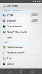 Sony Xperia M2 - Anrufe - Rufumleitungen setzen und löschen - Schritt 4