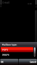 Nokia 5800 Xpress Music - Email - Manual configuration POP3 with SMTP verification - Step 14