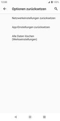 Sony Xperia XZ2 Compact - Android Pie - Fehlerbehebung - Handy zurücksetzen - Schritt 9