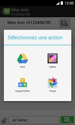 Bouygues Telecom Bs 403 - Contact, Appels, SMS/MMS - Envoyer un MMS - Étape 14