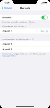 Apple iPhone XR - iOS 14 - Bluetooth - Jumelage d