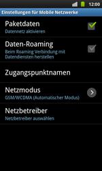 Samsung Galaxy S Plus - Ausland - Im Ausland surfen – Datenroaming - 8 / 11