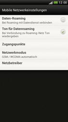HTC One S - Netzwerk - Manuelle Netzwerkwahl - Schritt 5