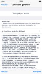 Apple iPhone 6 iOS 8 - Applications - configuration du service iCloud d