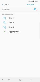 Samsung Galaxy S8 Plus - Android Oreo - WiFi - Configurazione WiFi - Fase 7