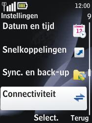 Nokia 2700 classic - bluetooth - aanzetten - stap 4