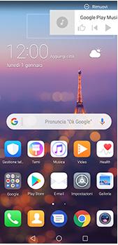 Huawei P20 Pro - Operazioni iniziali - Installazione di widget e applicazioni nella schermata iniziale - Fase 11
