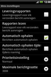 HTC A510e Wildfire S - MMS - probleem met ontvangen - Stap 7