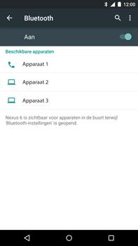 Motorola Nexus 6 - Bluetooth - Koppelen met ander apparaat - Stap 6