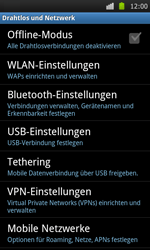 Samsung Galaxy S - Internet - Apn-Einstellungen - 5 / 22
