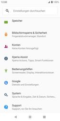 Sony Xperia XZ2 Compact - Fehlerbehebung - Handy zurücksetzen - 6 / 13