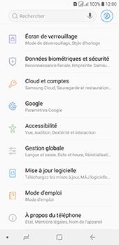 Samsung Galaxy J6 - Sécuriser votre mobile - Personnaliser le code PIN de votre carte SIM - Étape 4