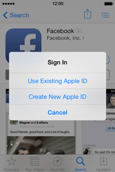 Apple iPhone 4S iOS 7 - Applications - Setting up the application store - Step 8