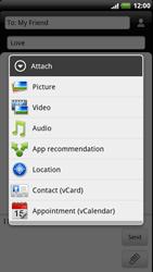 HTC Z715e Sensation XE - MMS - Sending pictures - Step 9