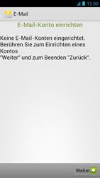 Alcatel One Touch Idol - E-Mail - Manuelle Konfiguration - Schritt 6