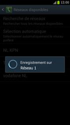 Samsung I9300 Galaxy S III - Réseau - Sélection manuelle du réseau - Étape 10