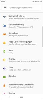 Sony Xperia 10 - Ausland - Auslandskosten vermeiden - Schritt 6