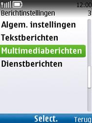 Nokia C2-01 - MMS - automatisch instellen - Stap 10
